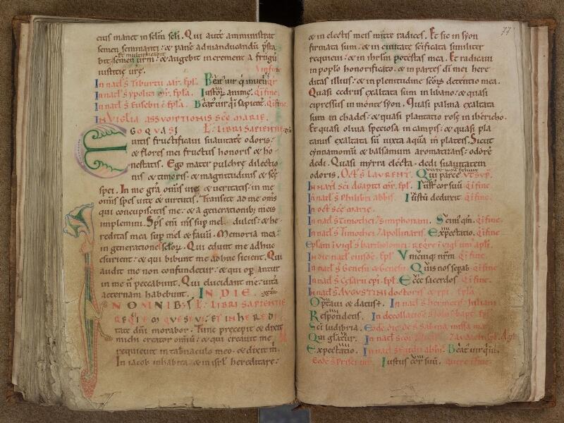 SAINT-OMER, Bibliothèque municipale, 0346, f. 076v - 077