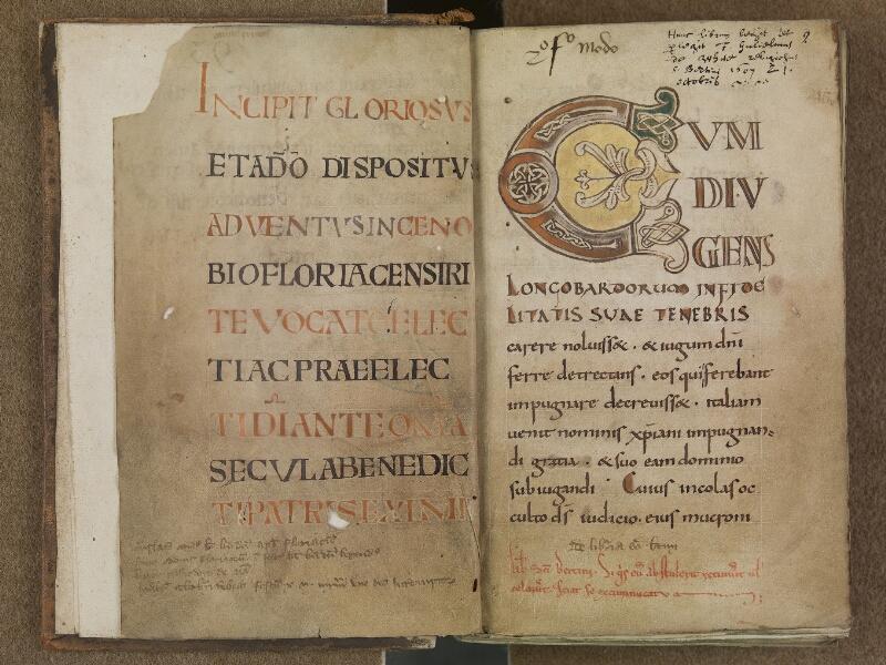SAINT-OMER, Bibliothèque municipale, 0350, f. 001v - 002