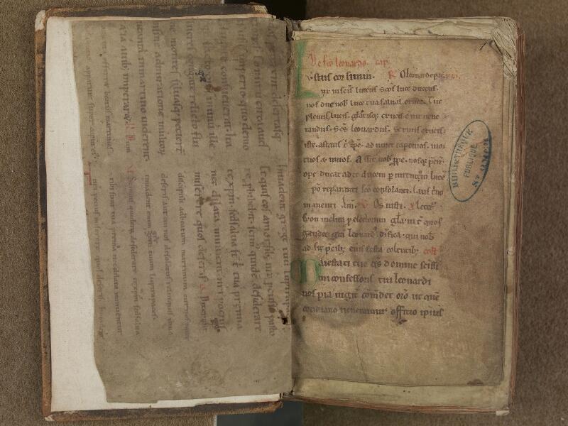 SAINT-OMER, Bibliothèque municipale, 0354, f. 000Bv - f. 001