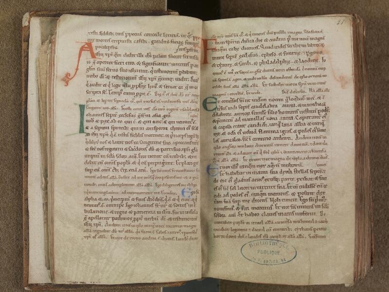 SAINT-OMER, Bibliothèque municipale, 0354, f. 020v - 021