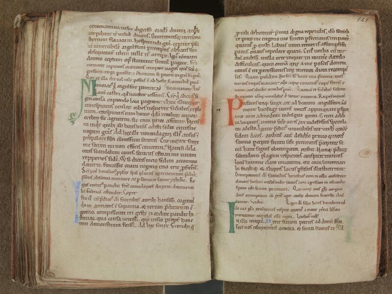 SAINT-OMER, Bibliothèque municipale, 0354, f. 140v - 141