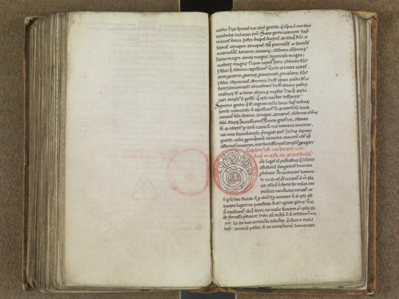 SAINT-OMER, Bibliothèque municipale, 0364, f. 133v - 134
