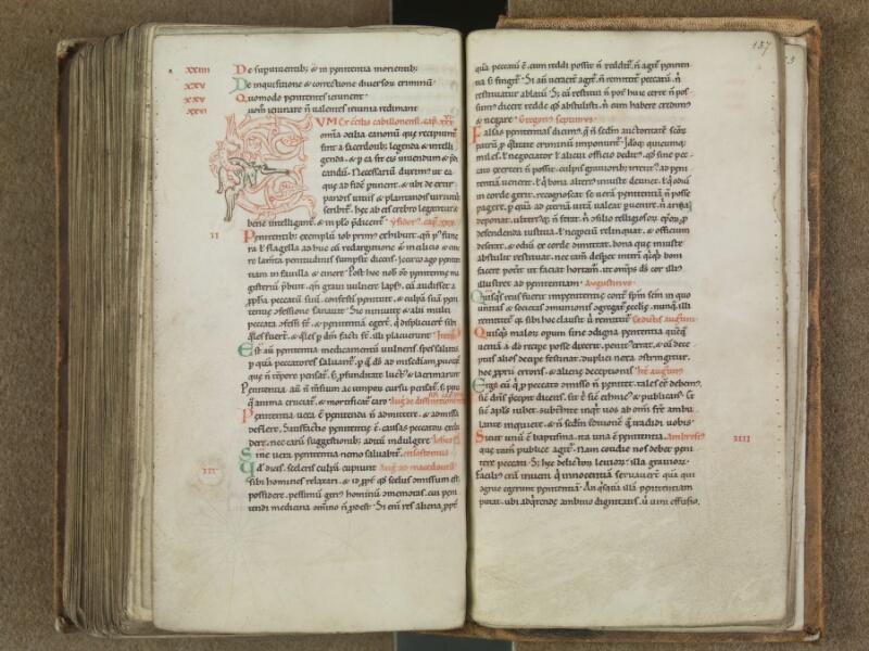 SAINT-OMER, Bibliothèque municipale, 0364, f. 156v - 157