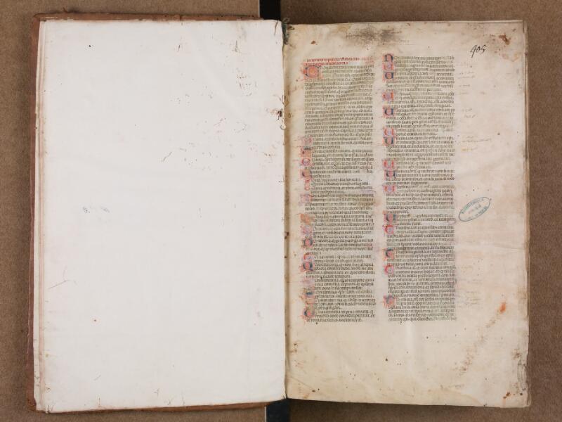 SAINT-OMER, Bibliothèque municipale, 0433, f. 000Cv - f. 001