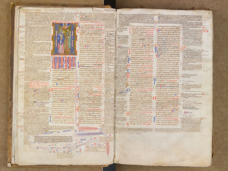 SAINT-OMER, Bibliothèque municipale, 0454, f. 012v - 013