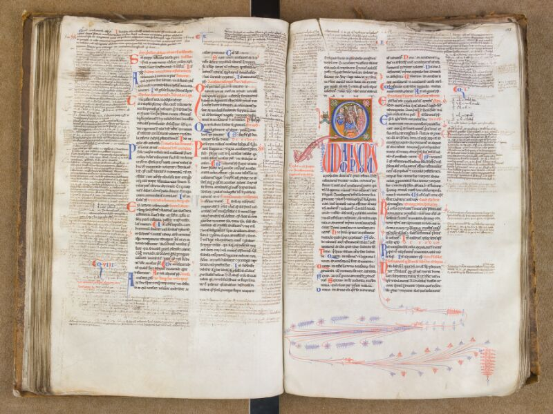 SAINT-OMER, Bibliothèque municipale, 0454, f. 117v - 118