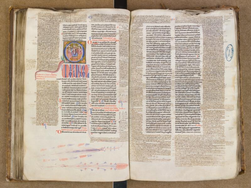 SAINT-OMER, Bibliothèque municipale, 0454, f. 124v - 125