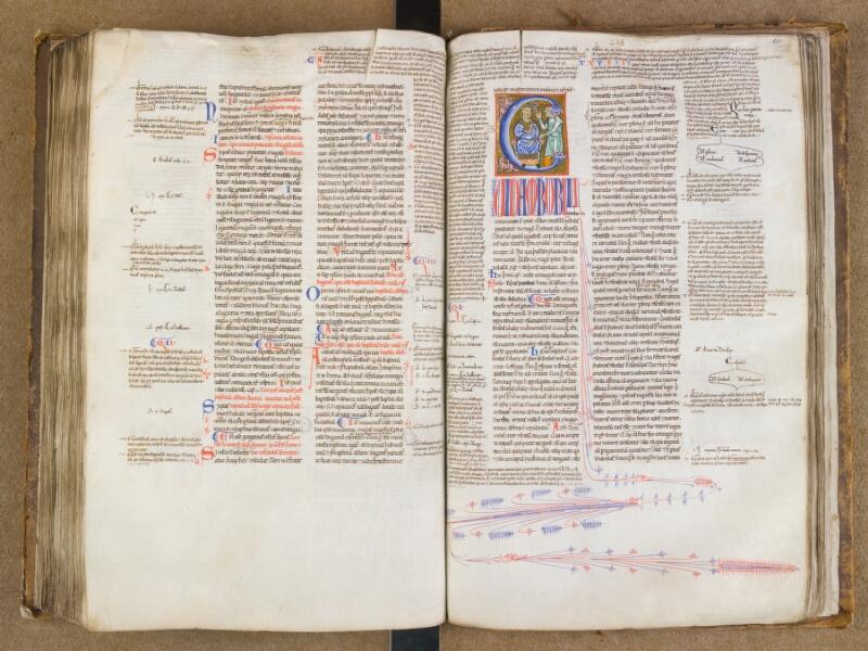 SAINT-OMER, Bibliothèque municipale, 0454, f. 249v - 250
