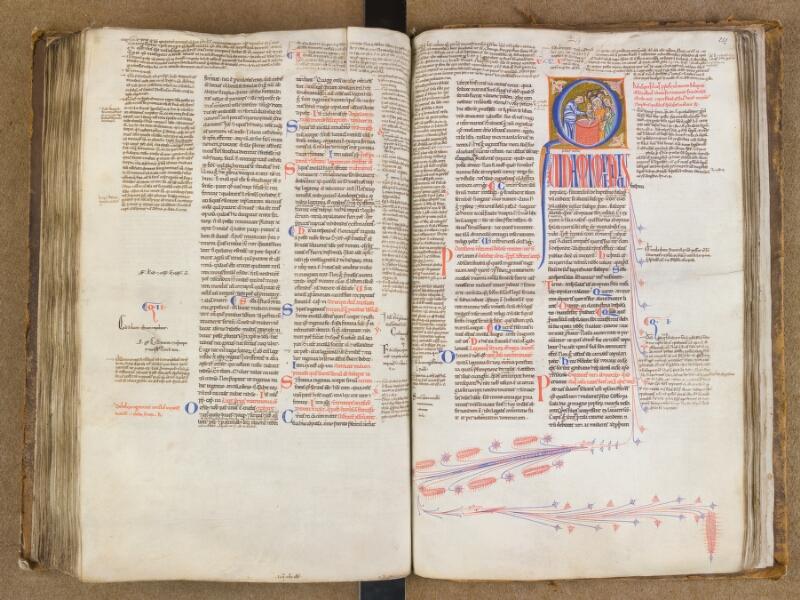 SAINT-OMER, Bibliothèque municipale, 0454, f. 250v - 251
