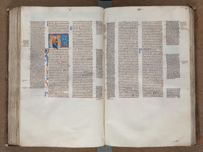 SAINT-OMER, Bibliothèque municipale, 0457, f. 184v - 185