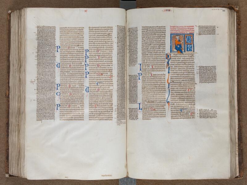 SAINT-OMER, Bibliothèque municipale, 0457, f. 217v - 218