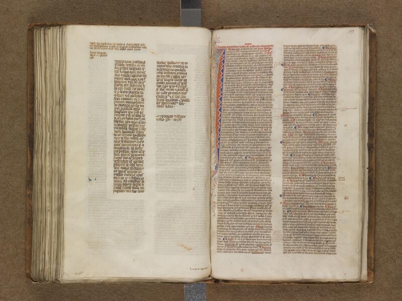 SAINT-OMER, Bibliothèque municipale, 0458, f. 208v - 209