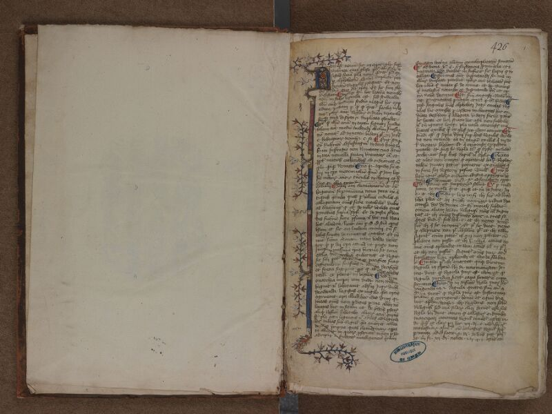 SAINT-OMER, Bibliothèque municipale, 0460, f. 000Av - f. 001