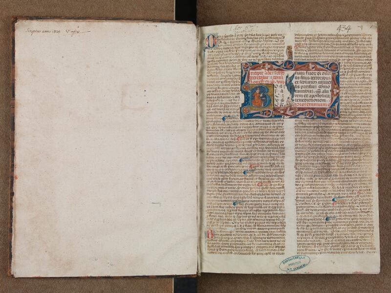 SAINT-OMER, Bibliothèque municipale, 0483, f. 000Bv - f. 001