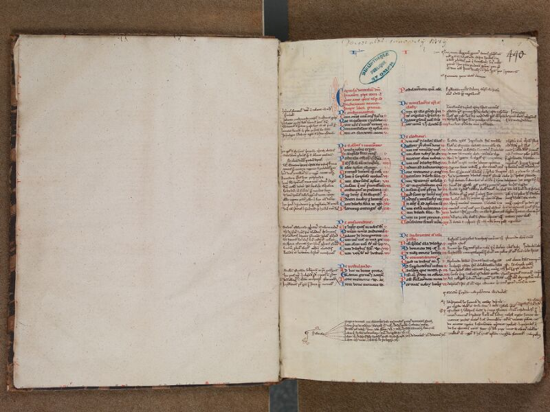 SAINT-OMER, Bibliothèque municipale, 0484, f. 000Bv - f. 001