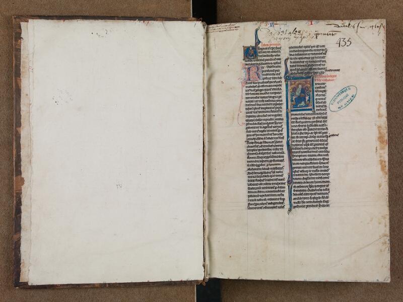 SAINT-OMER, Bibliothèque municipale, 0488, f. 000Bv - f. 001