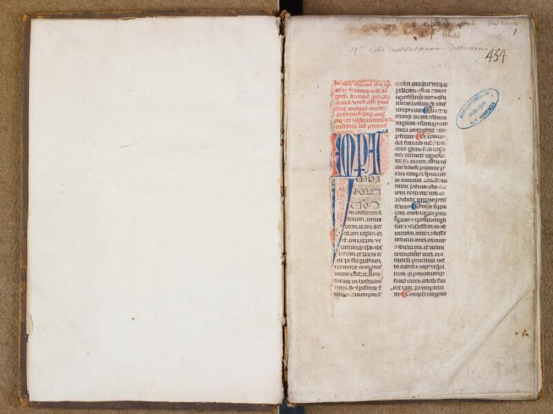 SAINT-OMER, Bibliothèque municipale, 0494, f. 000Av - f. 001