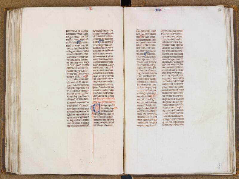 SAINT-OMER, Bibliothèque municipale, 0494, f. 083v - 084