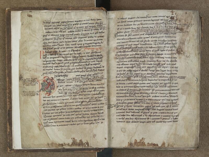 SAINT-OMER, Bibliothèque municipale, 0664, f. 001v - 002
