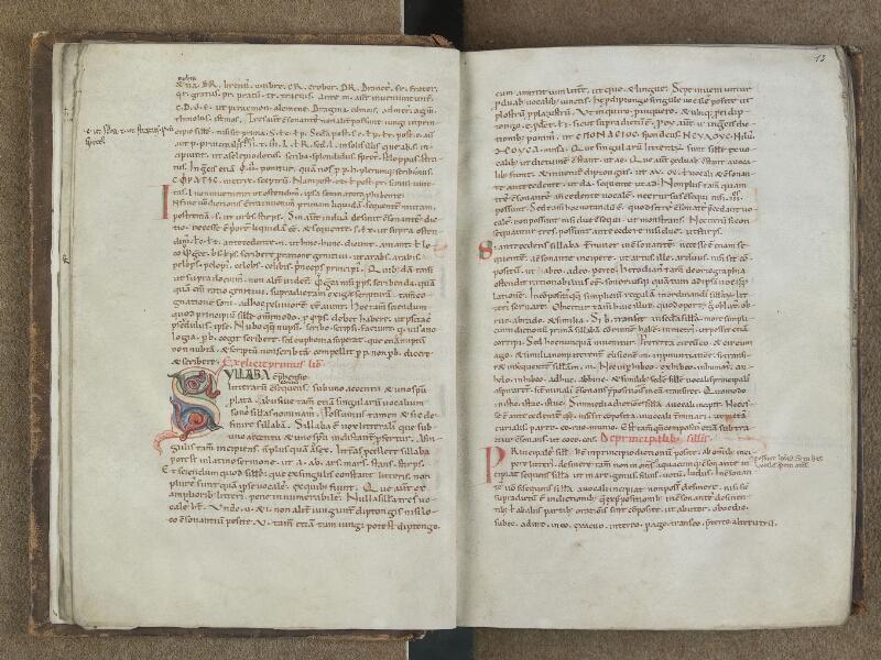 SAINT-OMER, Bibliothèque municipale, 0664, f. 012v - 013