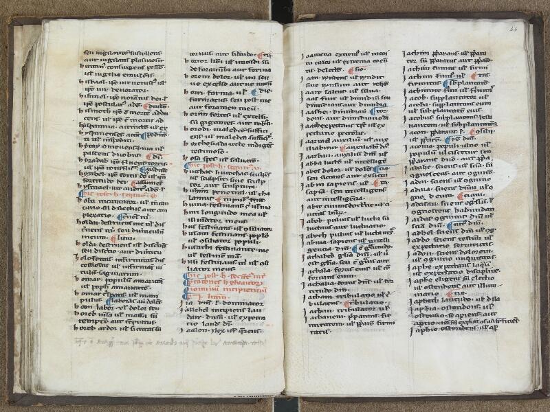 SAINT-OMER, Bibliothèque municipale, 0668, f. 043v - 044