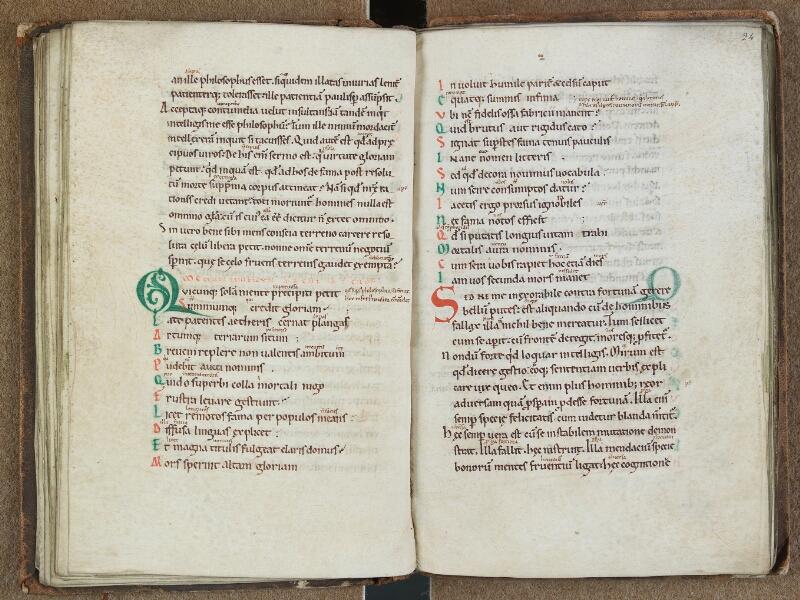 SAINT-OMER, Bibliothèque municipale, 0684, f. 023v - 024
