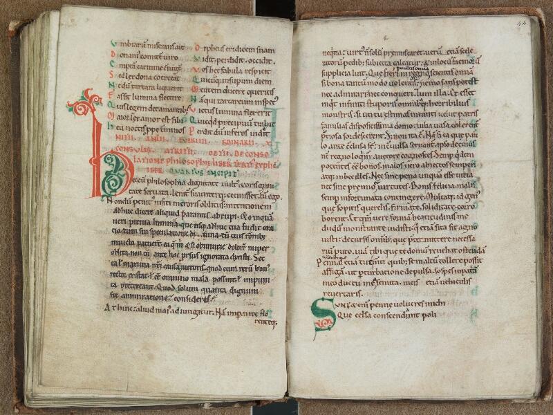 SAINT-OMER, Bibliothèque municipale, 0684, f. 043v - 044