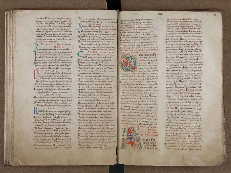 SAINT-OMER, Bibliothèque municipale, 0715, vol. 1, f. 051v - 052