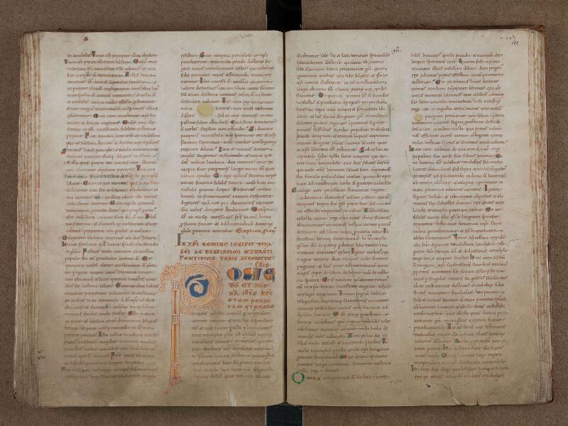 SAINT-OMER, Bibliothèque municipale, 0715, vol. 1, f. 121v - 122