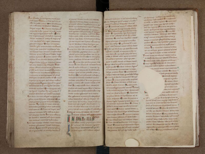SAINT-OMER, Bibliothèque municipale, 0715, vol. 1, f. 157v - 158
