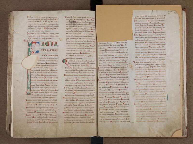 SAINT-OMER, Bibliothèque municipale, 0715, vol. 1, f. 160v - 161