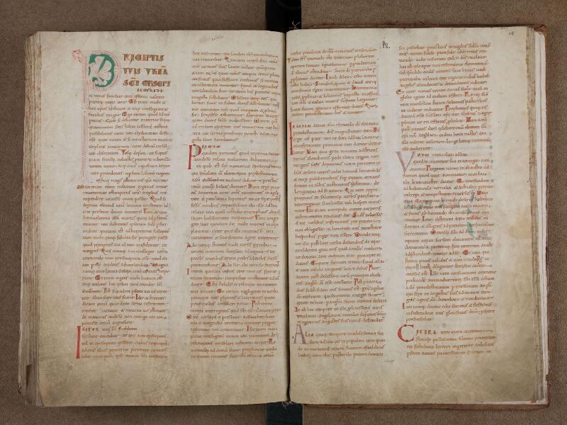 SAINT-OMER, Bibliothèque municipale, 0715, vol. 1, f. 164v - 165