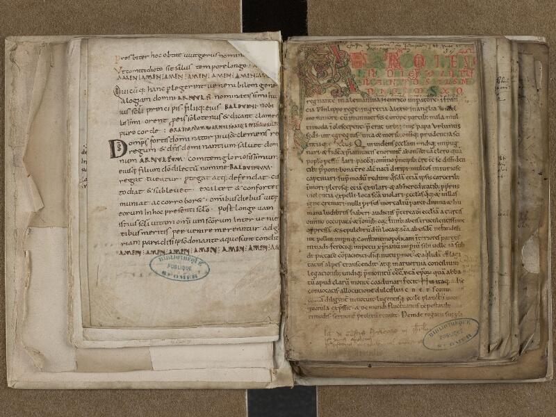 SAINT-OMER, Bibliothèque municipale, 0776, f. 035v - 036