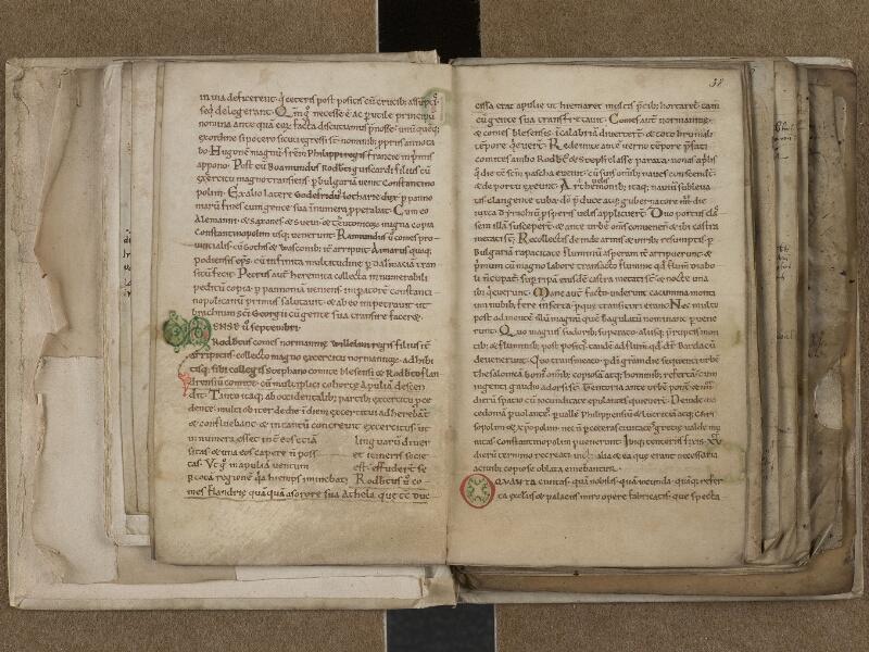SAINT-OMER, Bibliothèque municipale, 0776, f. 037v - 038