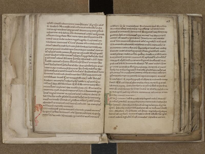 SAINT-OMER, Bibliothèque municipale, 0776, f. 042v - 043