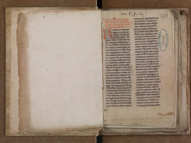 SAINT-OMER, Bibliothèque municipale, 0788, f. 000Av - f. 001