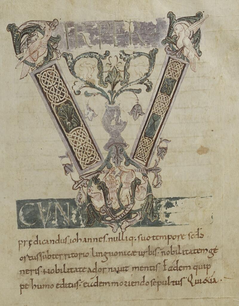 Semur-en-Auxois, Bibl. mun., ms. 0001, f. 001v