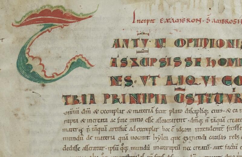 Semur-en-Auxois, Bibl. mun., ms. 0010, f. 001 - vue 2