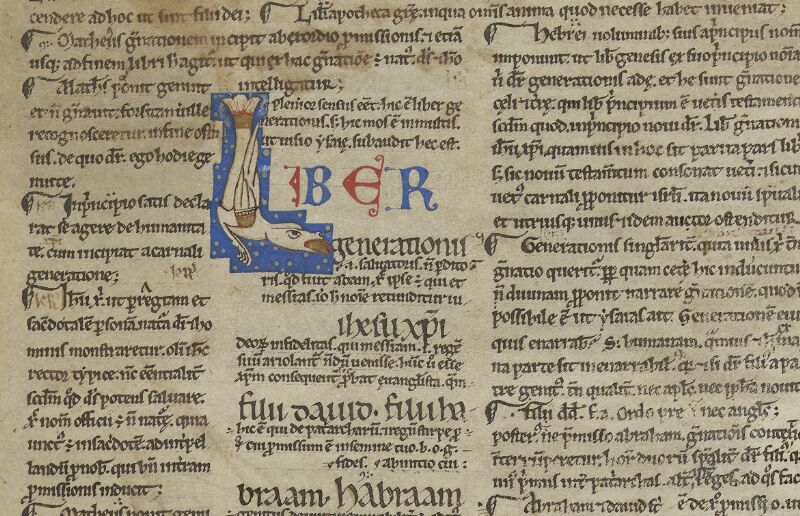 Semur-en-Auxois, Bibl. mun., ms. 0012, f. 001 - vue 2