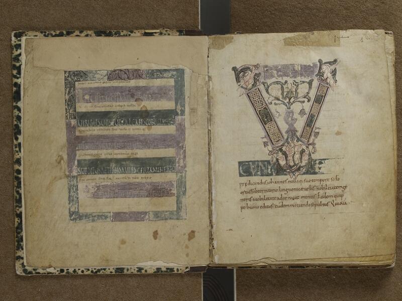 SEMUR-EN-AUXOIS, Bibliothèque municipale, 001, f.001v - 001 bis