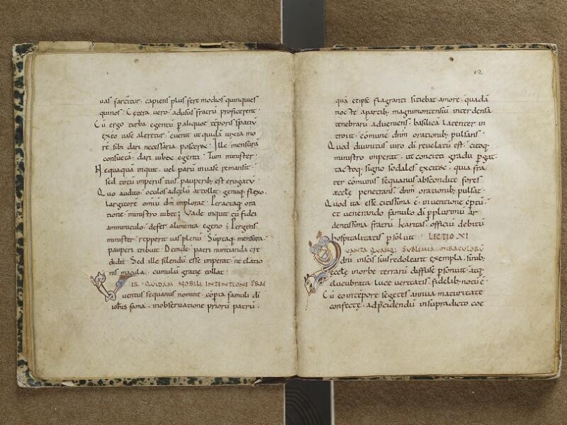 SEMUR-EN-AUXOIS, Bibliothèque municipale, 001, f. 011v - 012
