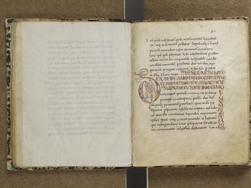 SEMUR-EN-AUXOIS, Bibliothèque municipale, 001, feuille de soie verso - f. 020