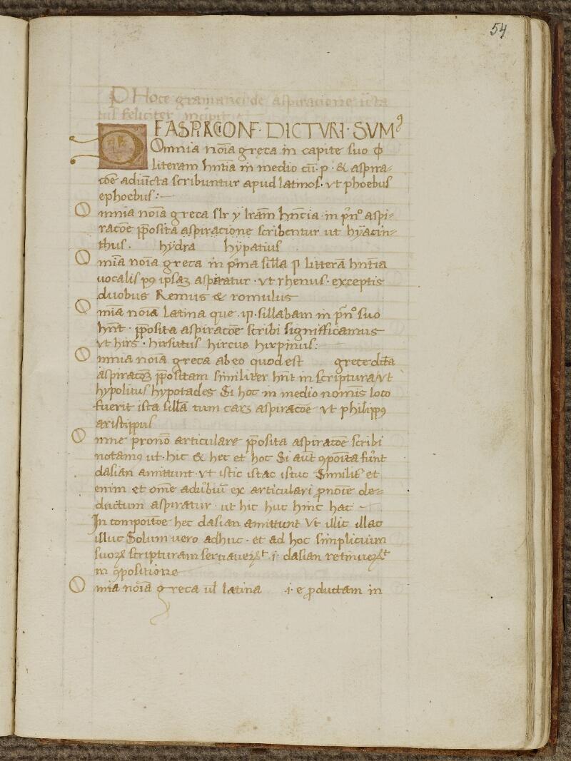 Strasbourg, Bibl. univ., ms. 0075, f. 054