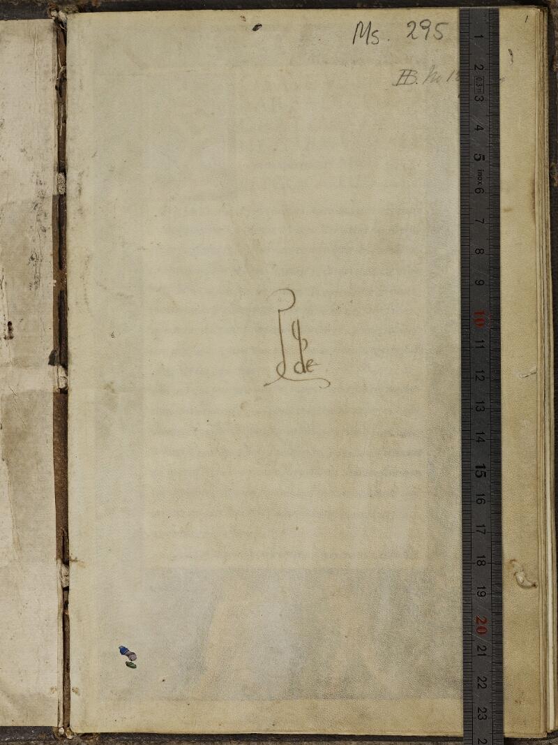 Strasbourg, Bibl. univ., ms. 0295, f. 001 - vue 1