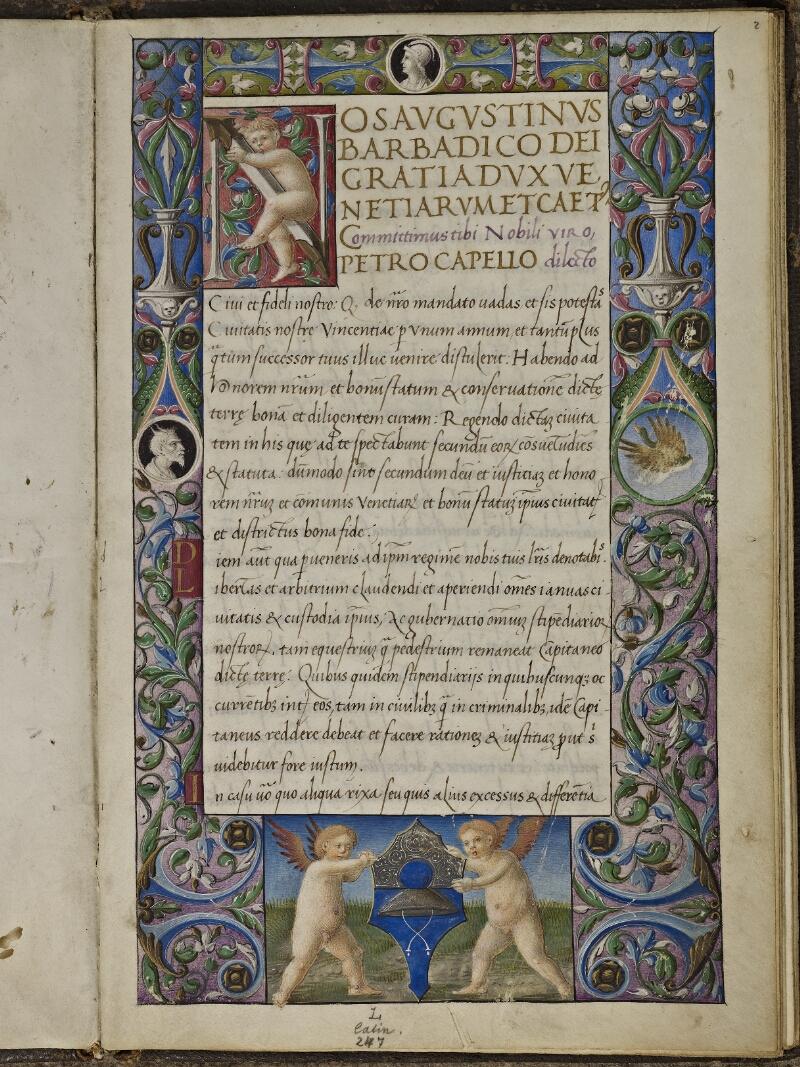 Strasbourg, Bibl. univ., ms. 0295, f. 002 - vue 1