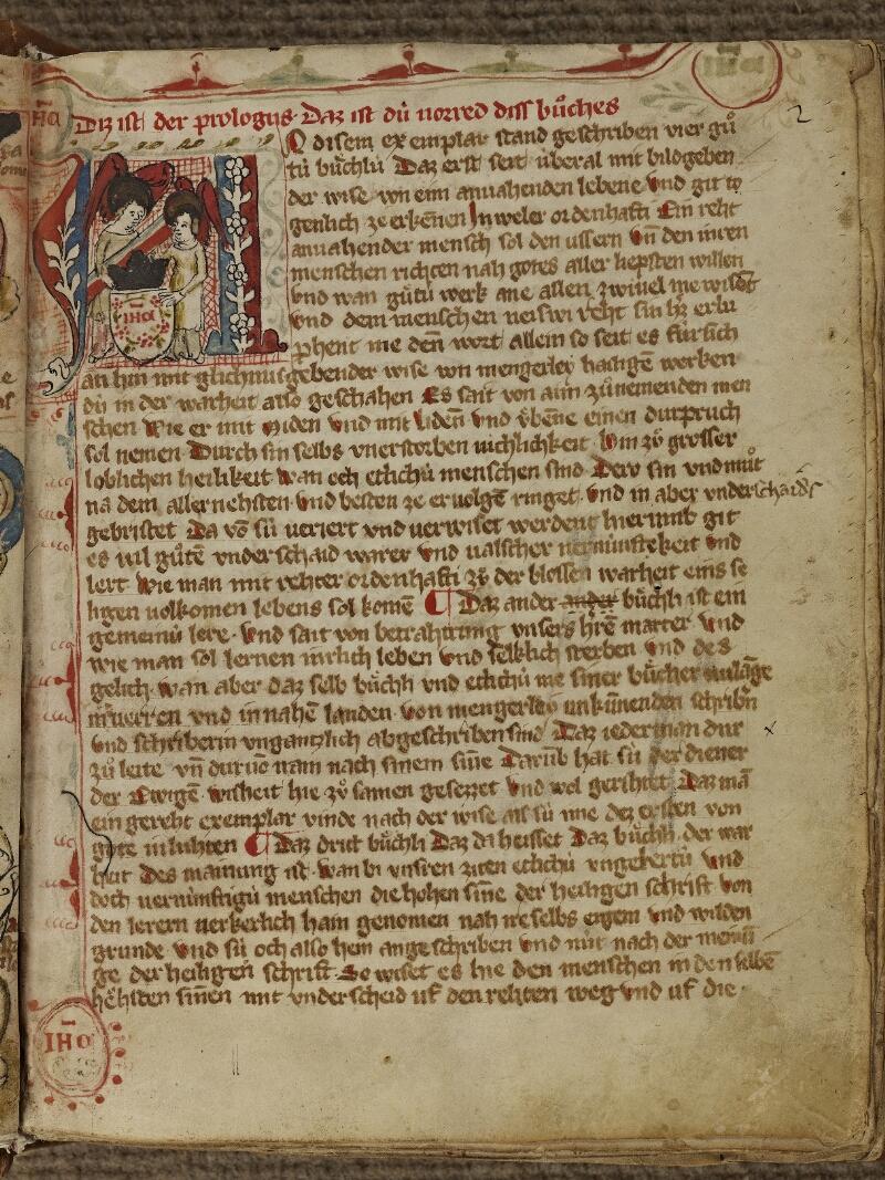 Strasbourg, Bibl. univ., ms. 2929, f. 002 - vue 1