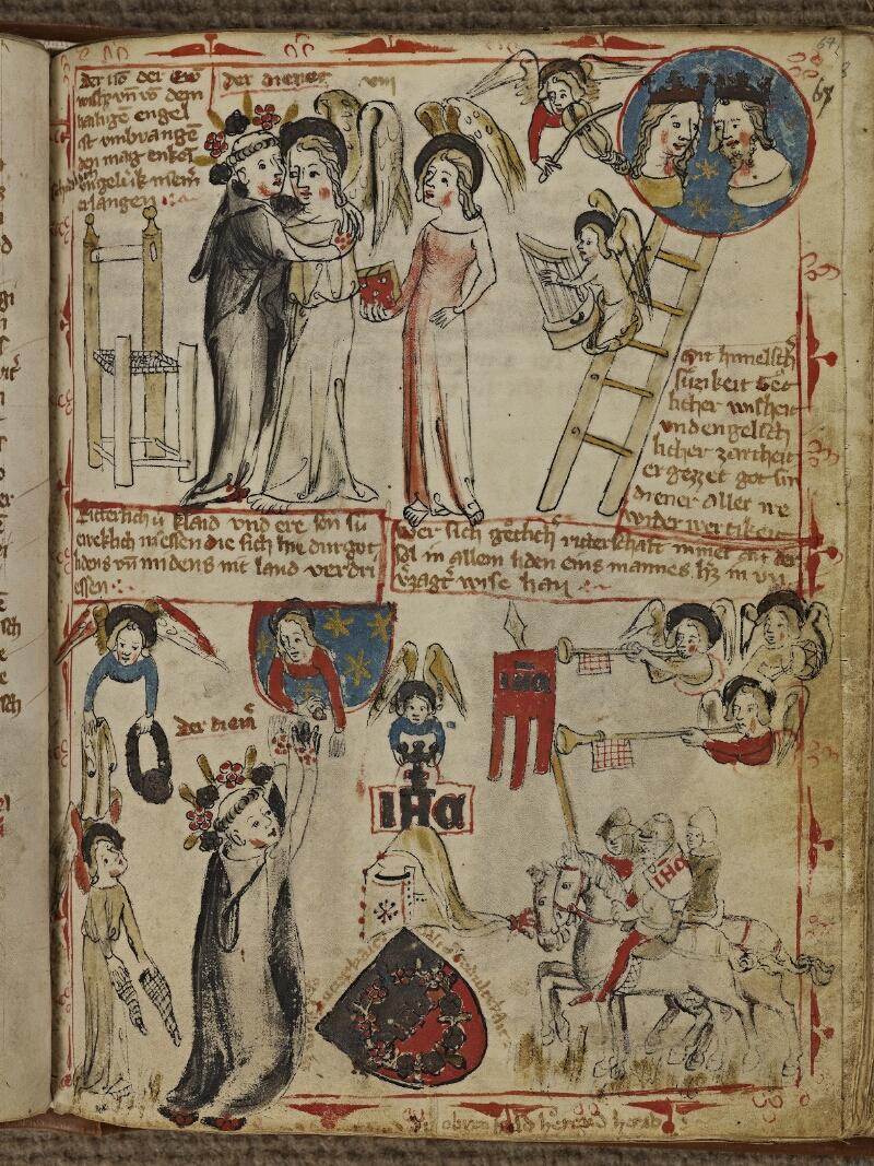 Strasbourg, Bibl. univ., ms. 2929, f. 067 - vue 1