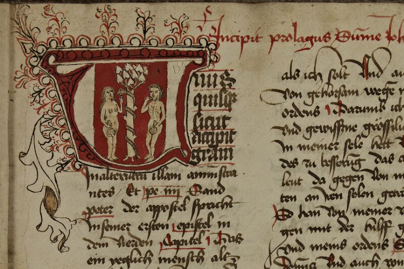 Strasbourg, Bibl. univ., ms. 2261, f. 002 - vue 3