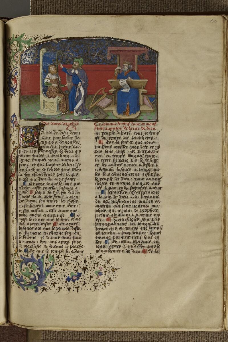 Strasbourg, Bibl. univ., ms. 0523, f. 150 - vue 1