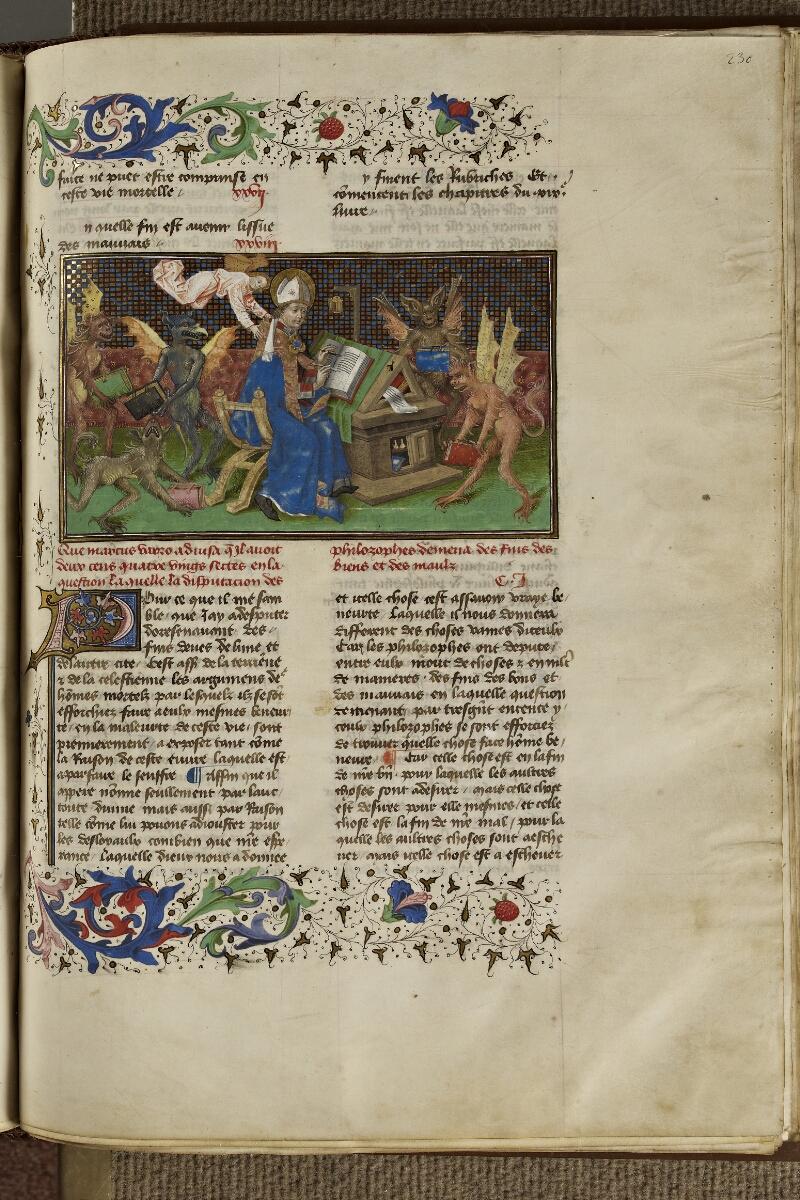 Strasbourg, Bibl. univ., ms. 0523, f. 230 - vue 1